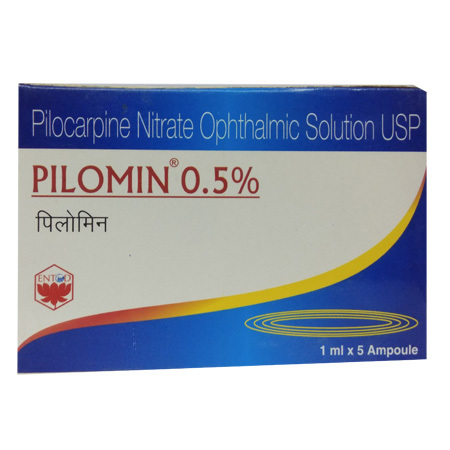 Pilocarpine Nitrate Ophthalmic Solution Ampoule