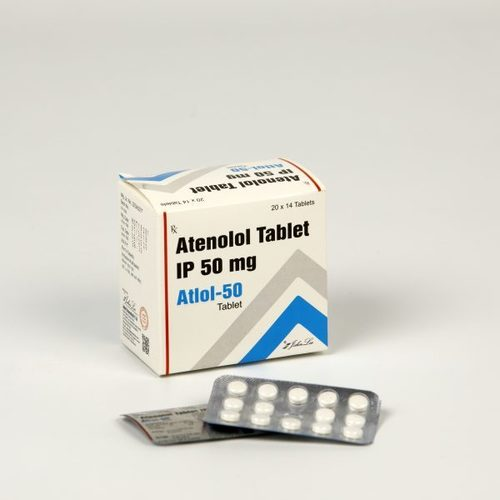 Atenolol Tablet IP 50 mg