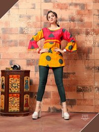 Fancy Printed Short Kurtis