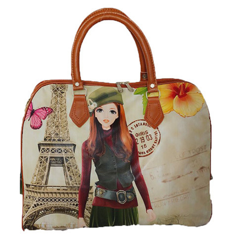 Ladies Printed Travel Bag