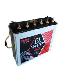 Exide El Tubular Battery  (12v-180ah)