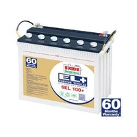 Exide El Plus Premium Tubular Battery (12v-50ah)