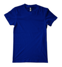 Blue Round Neck T Shirts