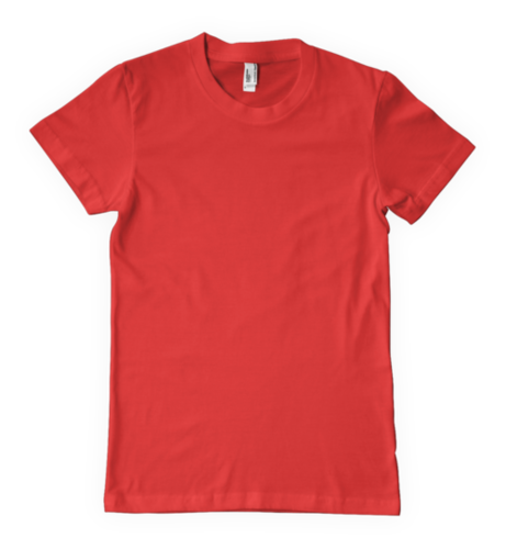 RED Round Neck T-Shirts