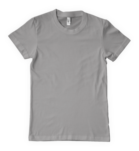 GREY Round Neck T-Shirts