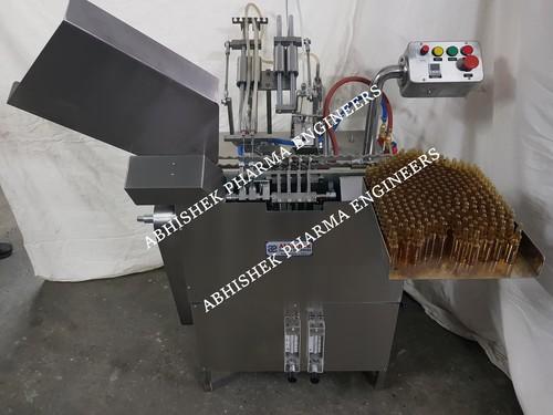 Glass Ampoule filling sealing Machine