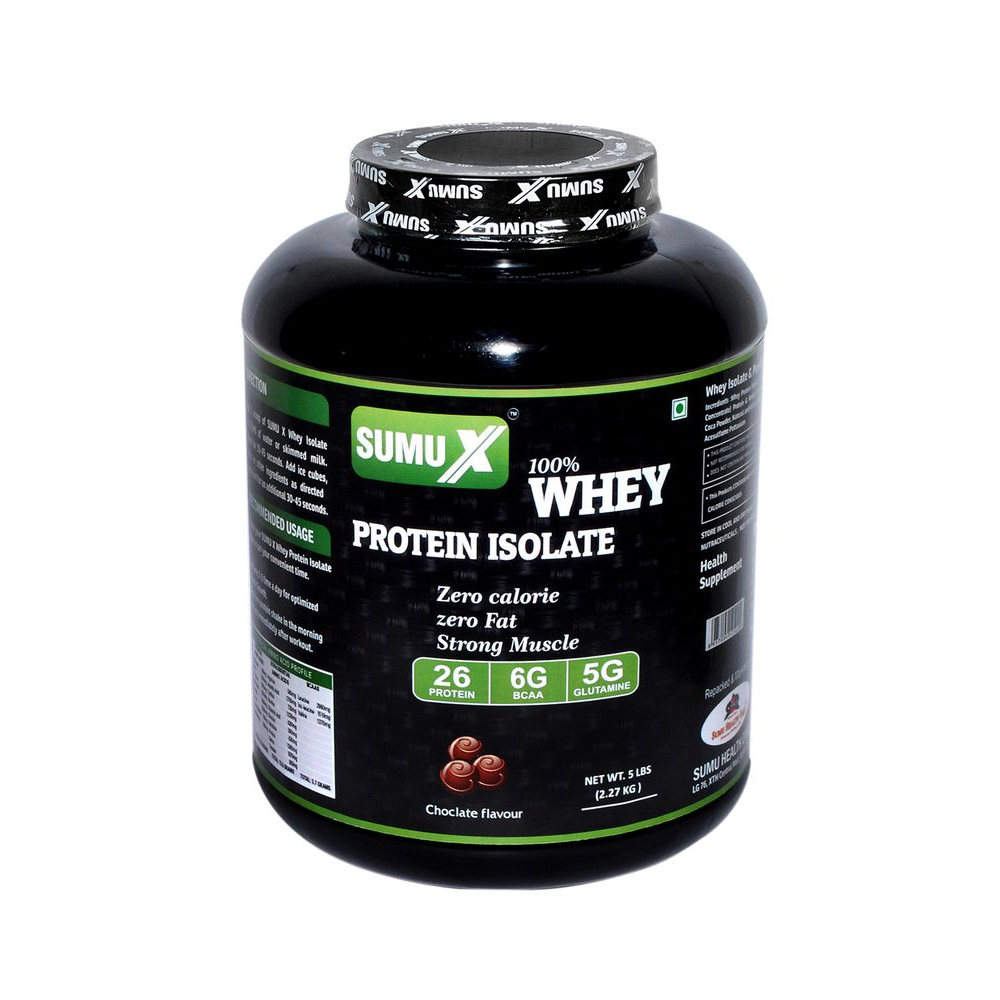 WHEY PROTEIN ISOLATE 5 LBS CHOCOLATE FLV