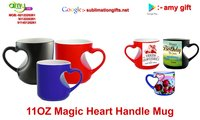 Magic Heart Handle Mug