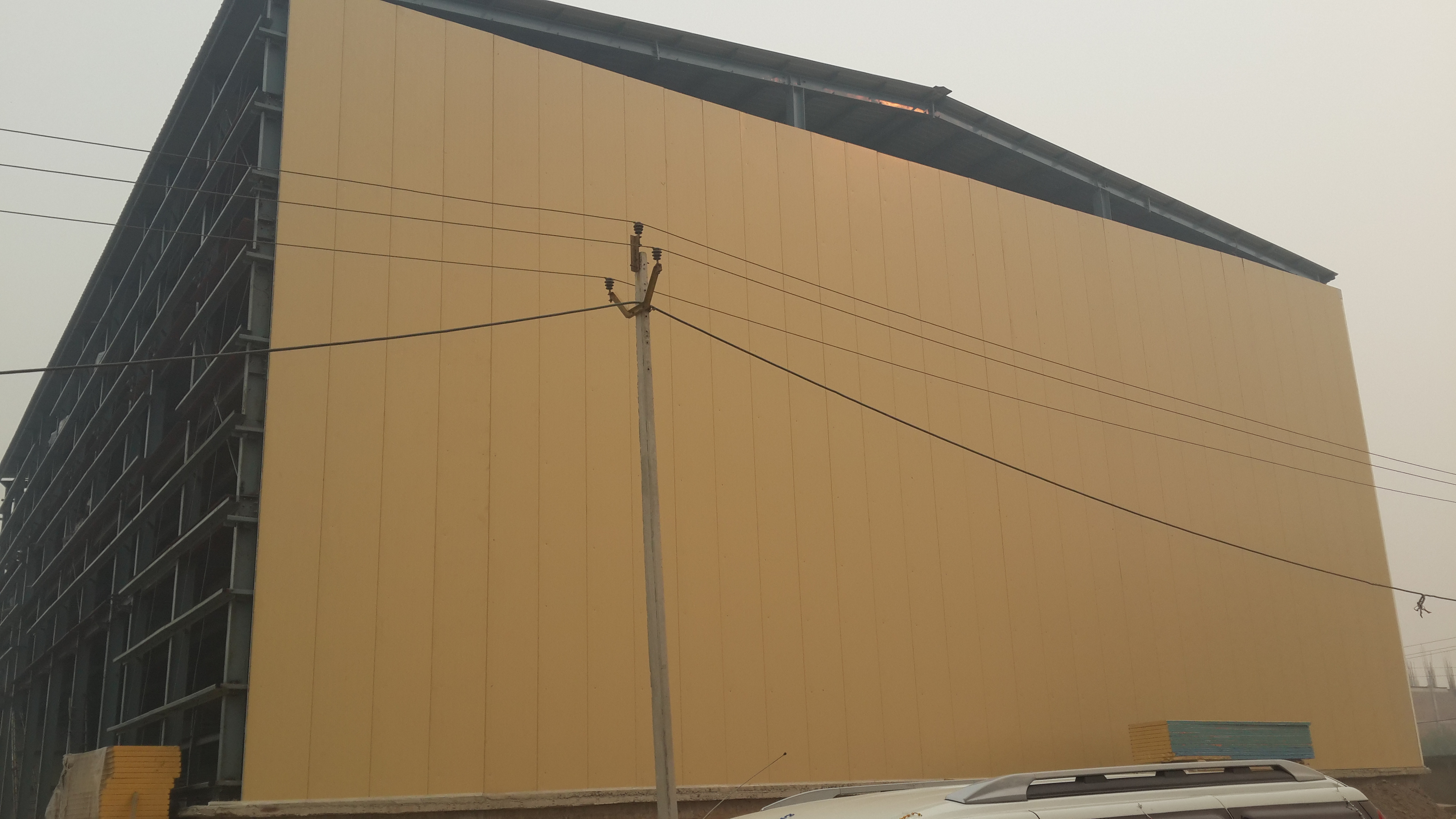 Commercial Cold Storage Plant