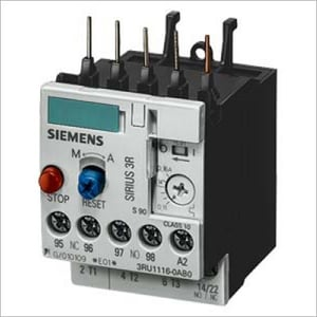 Siemens Thermal Overload Relays