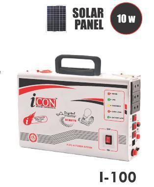 Transformer Based 50VA Solar CFL UPS