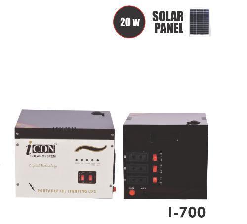 Solar CFL UPS Double Battery