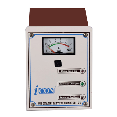 ICON automatic battery charger