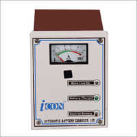Electronic automatic battery charger