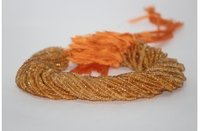 Natural Citrine Faceted Rondelle Beads Strand 3-4.5mm