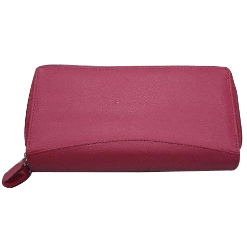 Pink Leather Purse