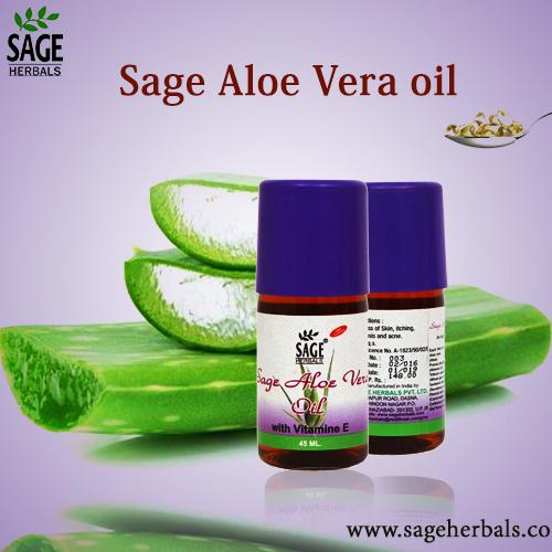 Sage Aloevera Oil
