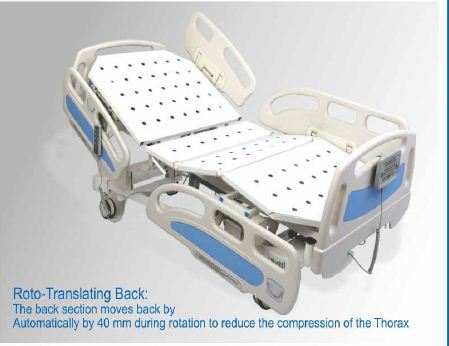 Five Functional Hi-Low ICU Bed
