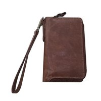 Cognac Leather Purse