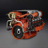 Automobile Diesel Engine