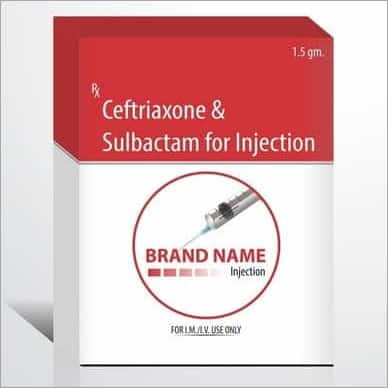 Ceftriaxone & Sulbactam Injections