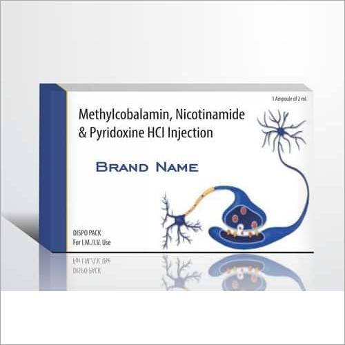 Methylcobalamin, Nicotinamide & Pyridoxine HCL Injections