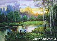 Landscape Canvas Paintings