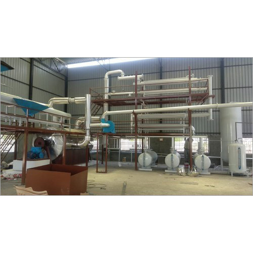 Plastic pyrolysis plant Manufacturer,Supplier In Indore