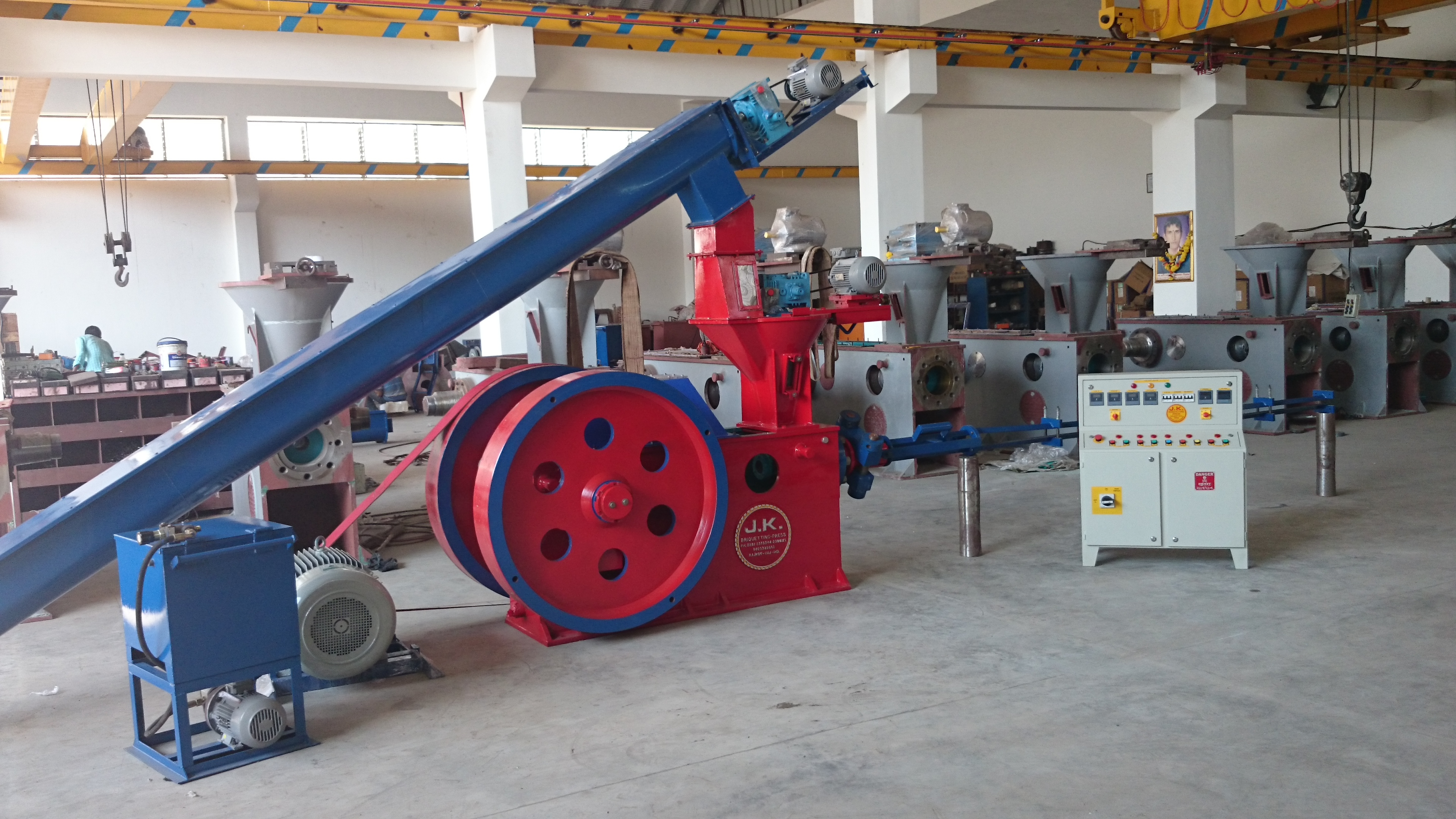 Supreme 75 Briquetting Machine