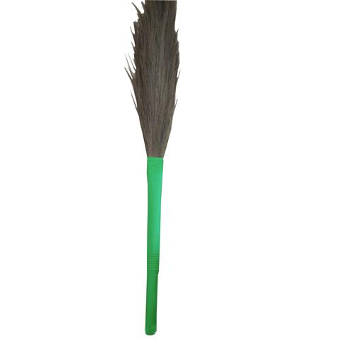 Plastic Pipe Natural Grass Broom