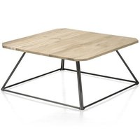 Indus Iron Wooden Coffee Table