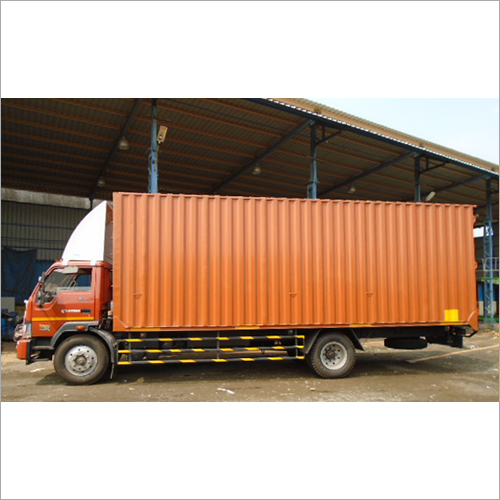 Dry Container Truck