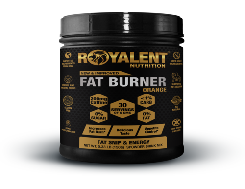 Orange Fat Burner Powder