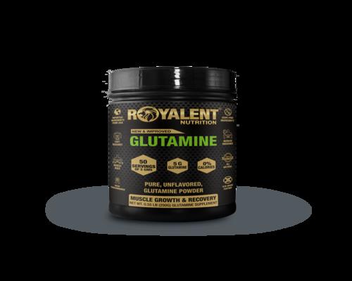 Glutamine Powder Jar