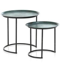 Indus Iron Table Side Table