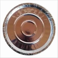 Silver Laminated Paper Plate