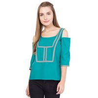 Ladies Cold Shoulder Top