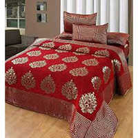 Chenille Fitted Bed Sheet
