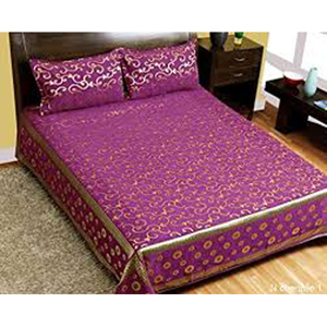 Heavy Chennile Double Bed Sheet