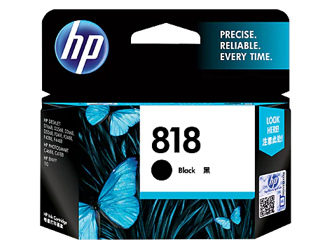 HP CH640ZZ BLACK INK CARTRIDGE