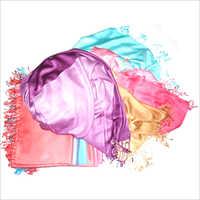 Dyed Satin Stole