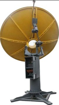 Parabolic Dish Concentrator With Gps Tracking System