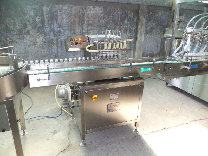 Air Jet Bottle Cleaning Machines