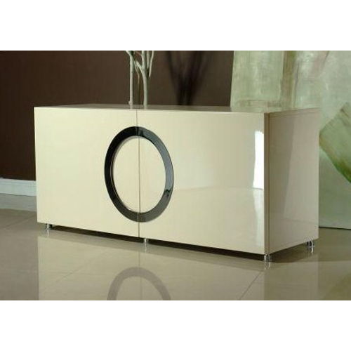 Cream High Gloss Sideboard