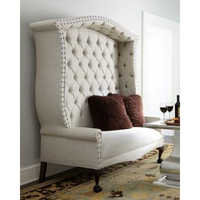 High Back Settee Sofa