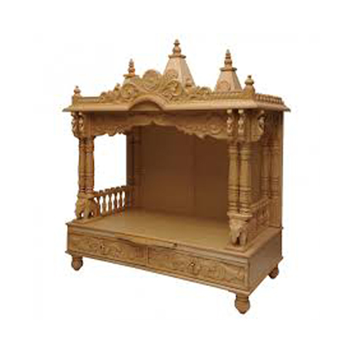 Religious Wooden Temple