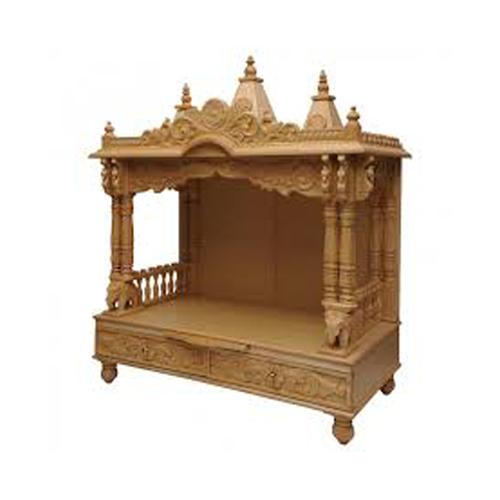 Religious Wooden Temple
