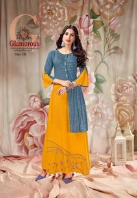 Beautiful Rayon Kurtis