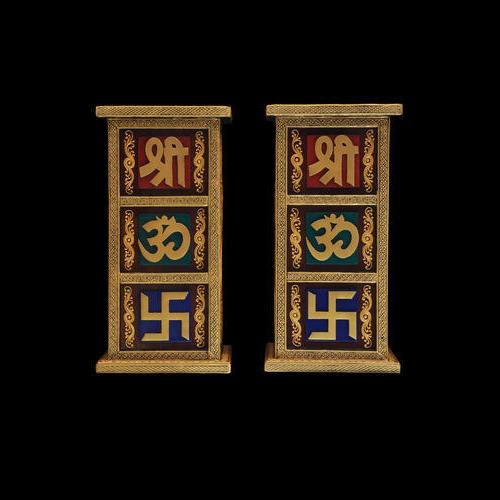 Shree Om Swastik Console Table Set