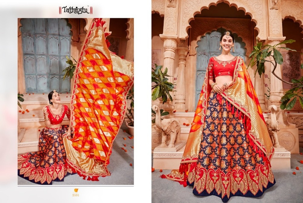 Indian Wedding Lehenga Choli Designs
